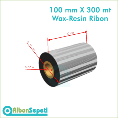 100 mm X 300 mt Wax-Resin Ribon Fiyatı (Online Satın Al)