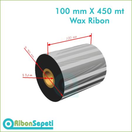 100 mm X 450 mt Wax Ribon (Online Satın Al)