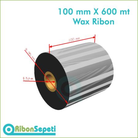 100 mm X 600 mt Wax Ribon (Online Satın Al)