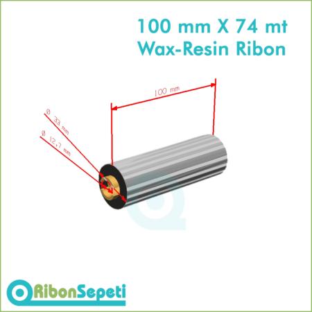 100 mm X 74 mt Wax-Resin Ribon Fiyatı (Online Satın Al)