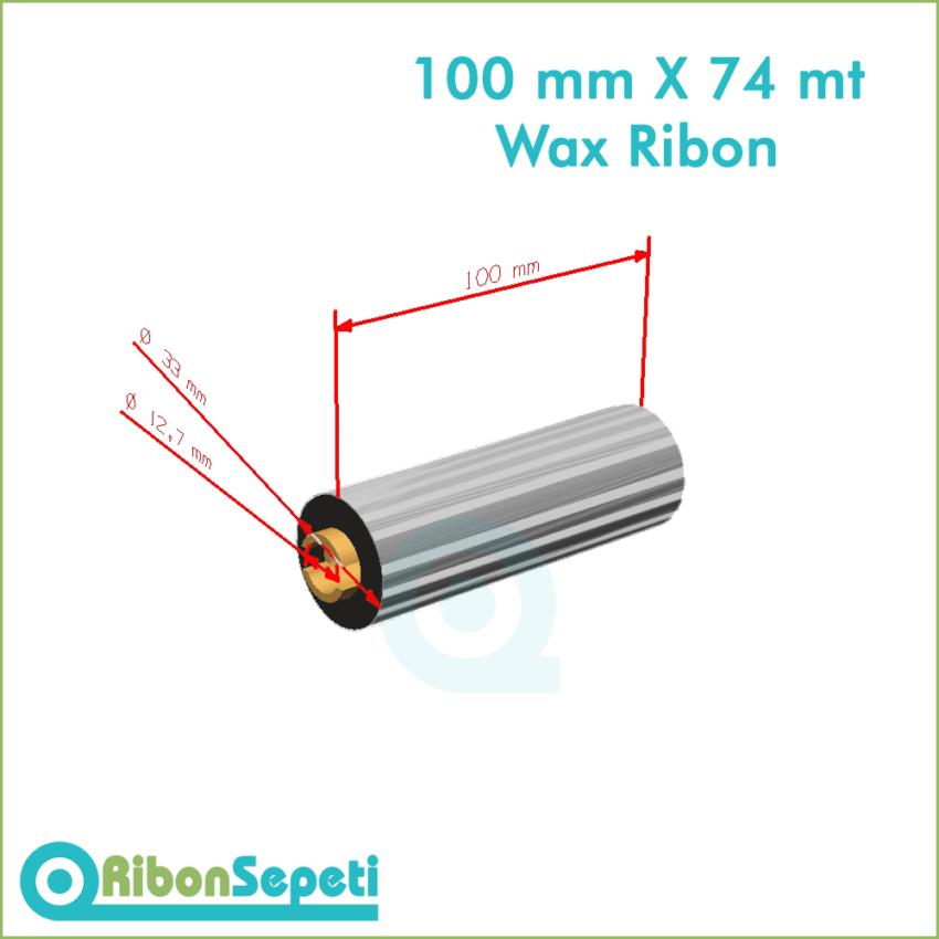 100 mm X 74 mt Wax Ribon Fiyatı (Online Satın Al)