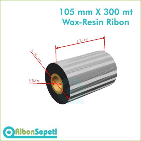 105 mm X 300 mt Wax-Resin Ribon Fiyatı (Online Satın Al)