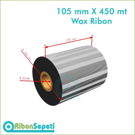 105 mm X 450 mt Wax Ribon (Online Satın Al)
