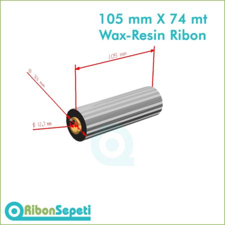 105 mm X 74 mt Wax-Resin Ribon Fiyatı (Online Satın Al)