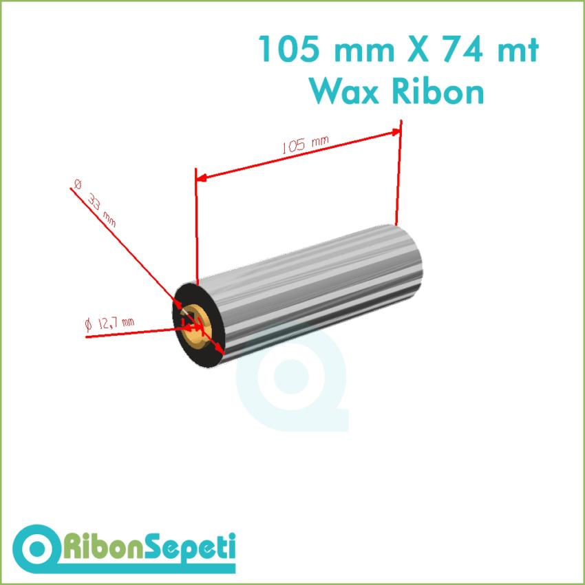 105 mm X 74 mt Wax Ribon Fiyatı (Online Satın Al)