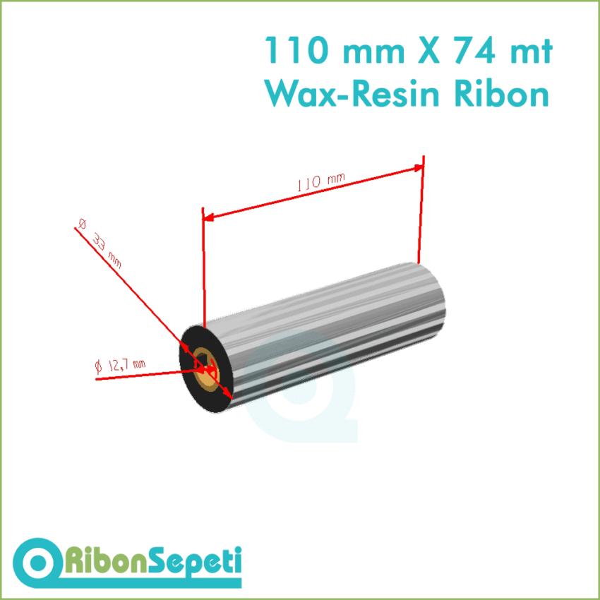 110 mm X 74 mt Wax-Resin Ribon Fiyatı (Online Satın Al)
