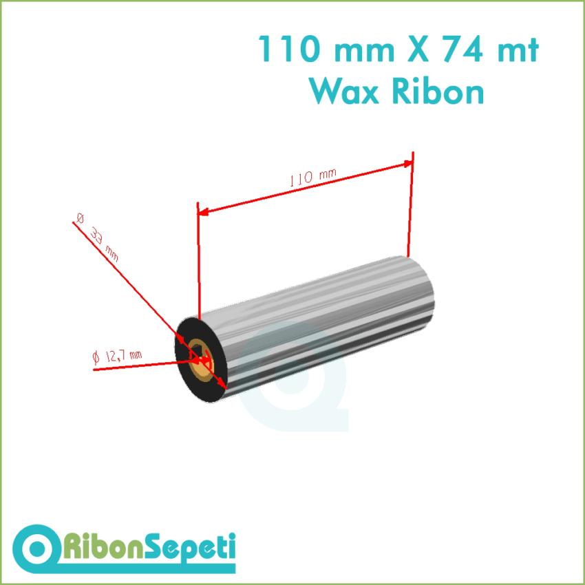 110 mm X 74 mt Wax Ribon Fiyatı (Online Satın Al)