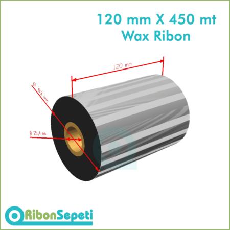 120 mm X 450 mt Wax Ribon (Online Satın Al)