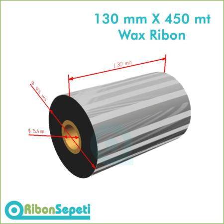 130 mm X 450 mt Wax Ribon (Online Satın Al)