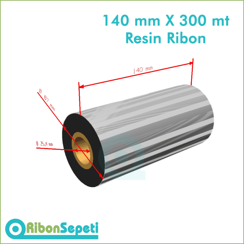 140 mm X 300 mt Resin Ribon Fiyatı (Online Satın Al)