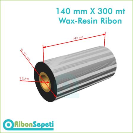 140 mm X 300 mt Wax-Resin Ribon Fiyatı (Online Satın Al)
