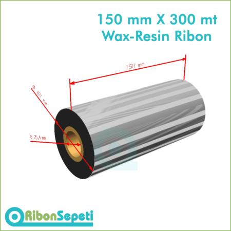 150 mm X 300 mt Wax-Resin Ribon Fiyatı (Online Satın Al)