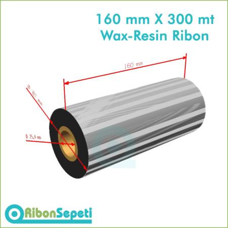 160 mm X 300 mt Wax-Resin Ribon Fiyatı (Online Satın Al)