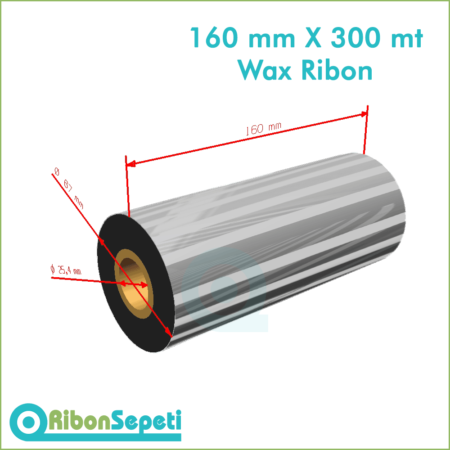 160 mm X 300 mt Wax Ribon Fiyatı (Online Satın Al)