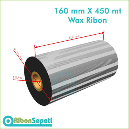 160 mm X 450 mt Wax Ribon (Online Satın Al)