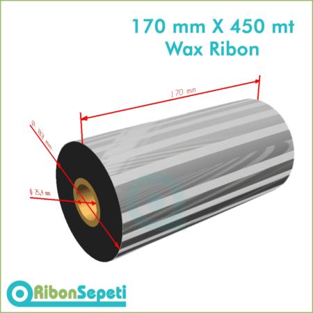 170 mm X 450 mt Wax Ribon (Online Satın Al)
