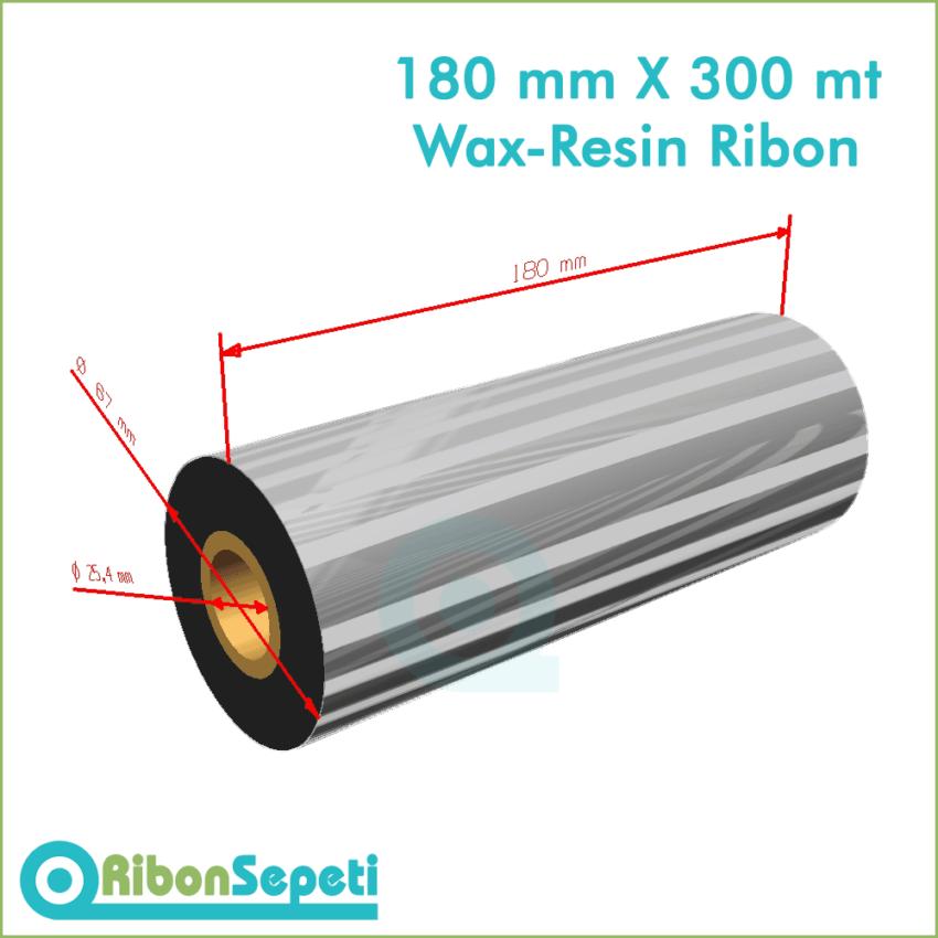180 mm X 300 mt Wax-Resin Ribon Fiyatı (Online Satın Al)