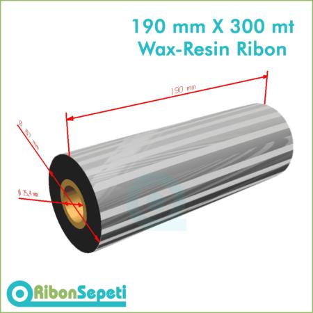 190 mm X 300 mt Wax-Resin Ribon Fiyatı (Online Satın Al)