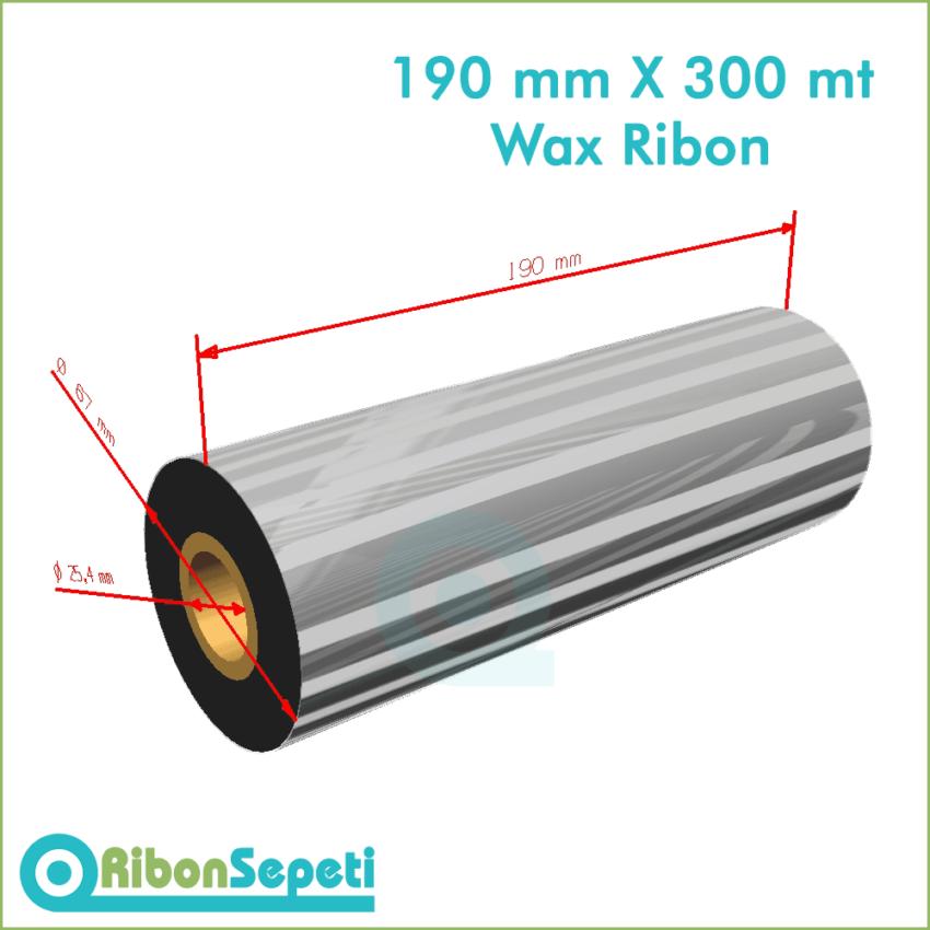 190 mm X 300 mt Wax Ribon Fiyatı (Online Satın Al)