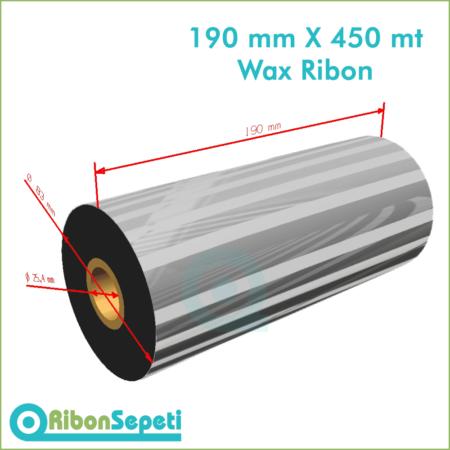 190 mm X 450 mt Wax Ribon (Online Satın Al)