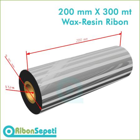 200 mm X 300 mt Wax-Resin Ribon Fiyatı (Online Satın Al)