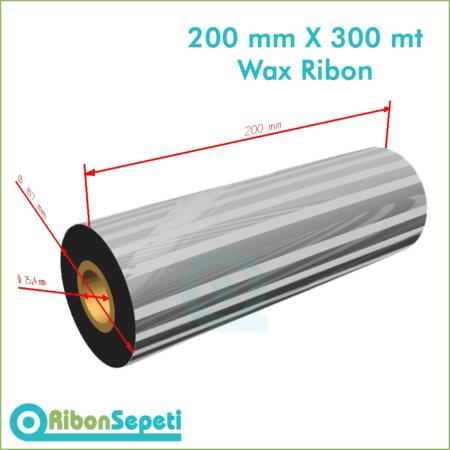 200 mm X 300 mt Wax Ribon Fiyatı (Online Satın Al)