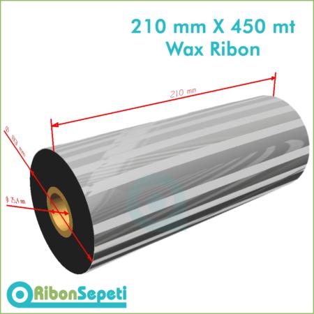 210 mm X 450 mt Wax Ribon (Online Satın Al)