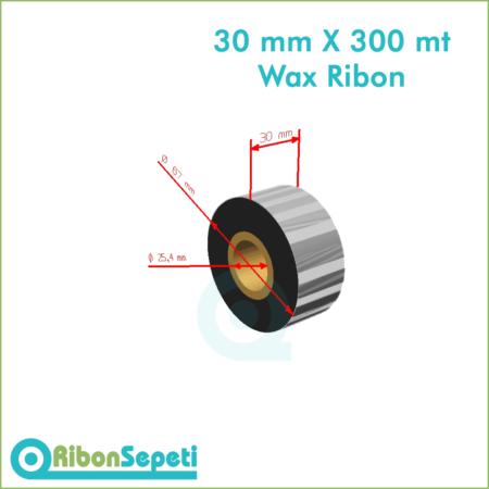 30 mm X 300 mt Wax Ribon Fiyatı (Online Satın Al)
