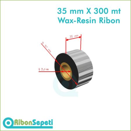 35 mm X 300 mt Wax-Resin Ribon Fiyatı (Online Satın Al)