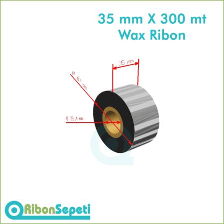 35 mm X 300 mt Wax Ribon Fiyatı (Online Satın Al)