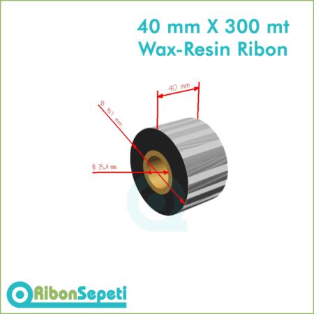 40 mm X 300 mt Wax-Resin Ribon Fiyatı (Online Satın Al)