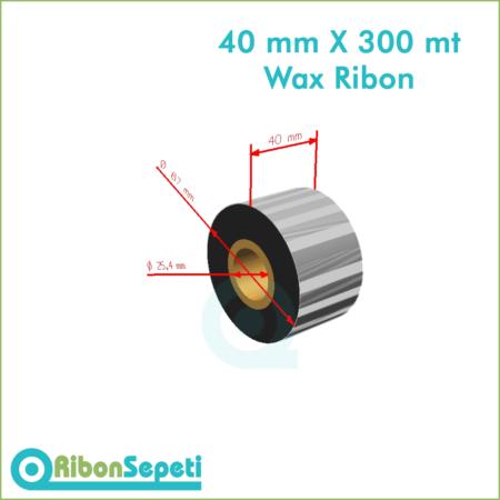 40 mm X 300 mt Wax Ribon Fiyatı (Online Satın Al)