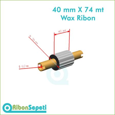 40 mm X 74 mt Wax Ribon Fiyatı (Online Satın Al)
