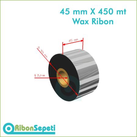45 mm X 450 mt Wax Ribon (Online Satın Al)