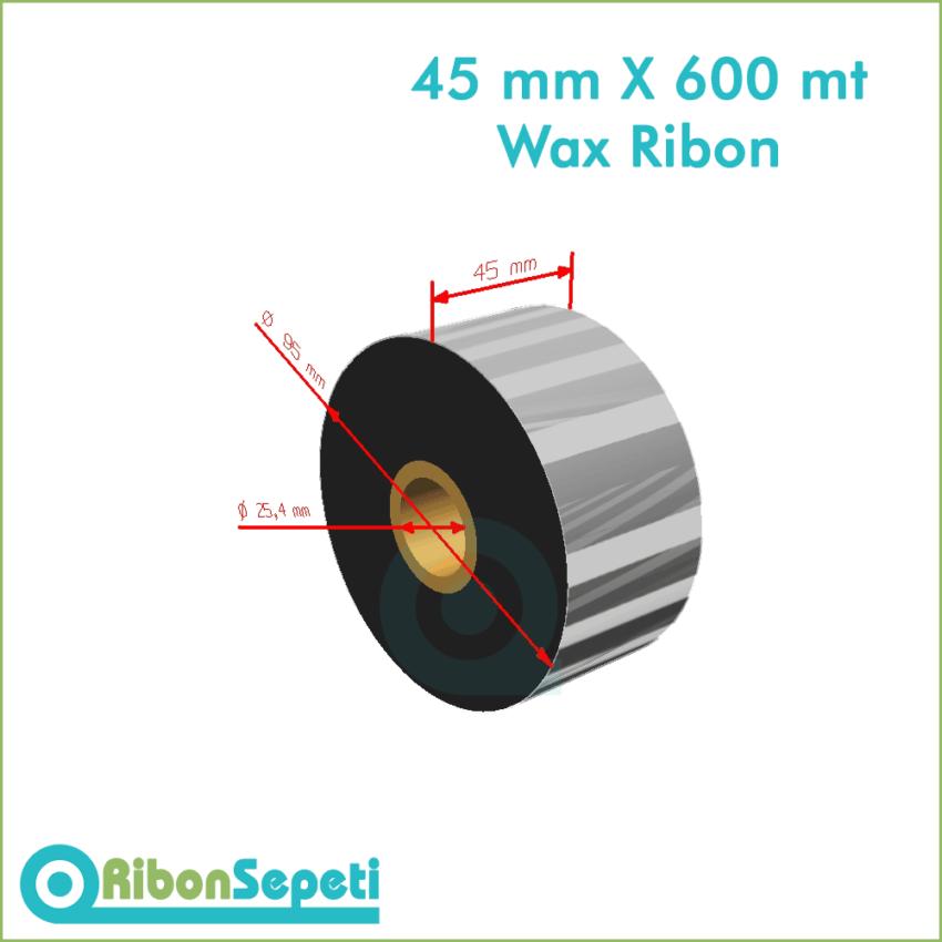 45 mm X 600 mt Wax Ribon (Online Satın Al)