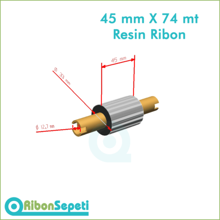 45 mm X 74 mt Resin Ribon Fiyatı (Online Satın Al)