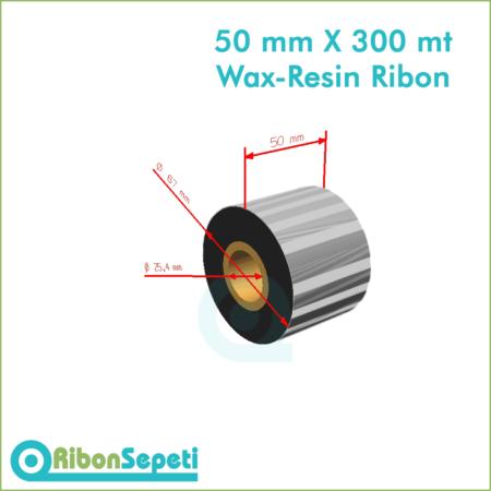 50 mm X 300 mt Wax-Resin Ribon Fiyatı (Online Satın Al)
