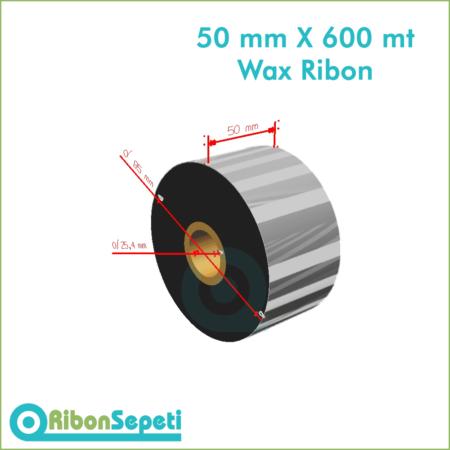 50 mm X 600 mt Wax Ribon (Online Satın Al)