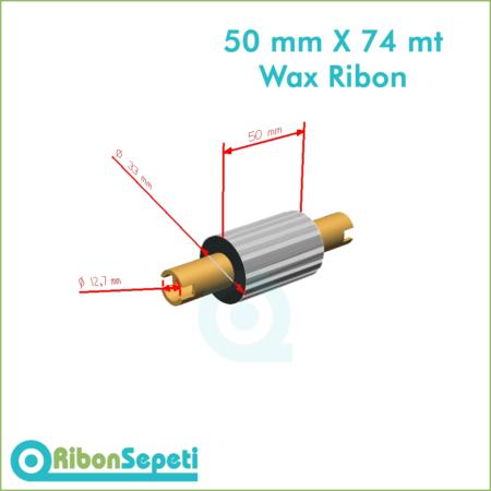 50 mm X 74 mt Wax Ribon Fiyatı (Online Satın Al)