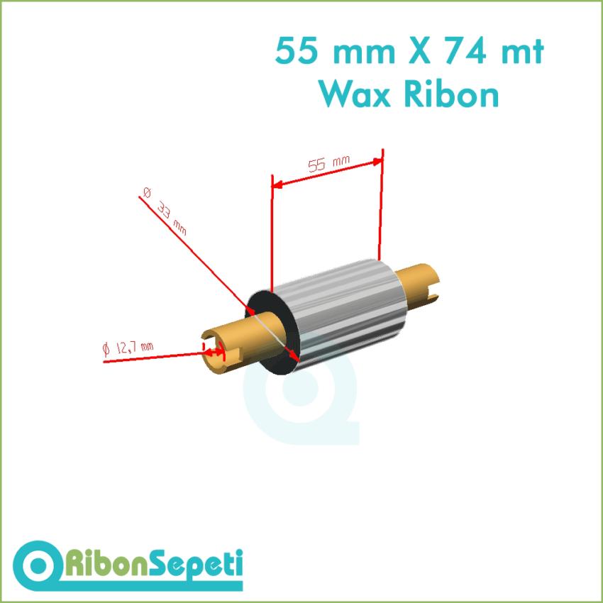 55 mm X 74 mt Wax Ribon Fiyatı (Online Satın Al)