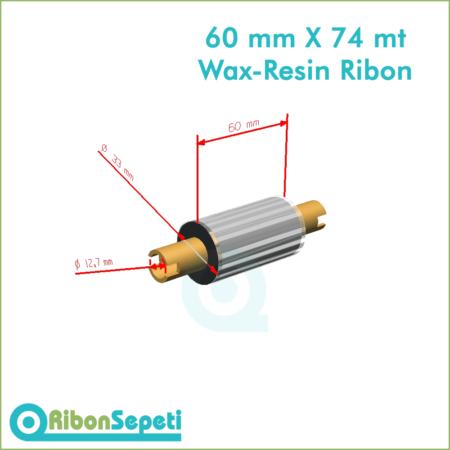 60 mm X 74 mt Wax-Resin Ribon Fiyatı (Online Satın Al)