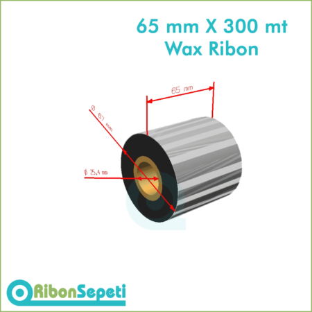 65 mm X 300 mt Wax Ribon Fiyatı (Online Satın Al)