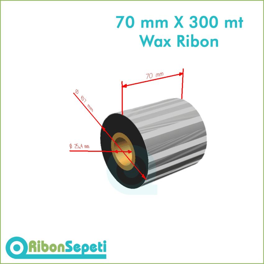 70 mm X 300 mt Wax Ribon Fiyatı (Online Satın Al)