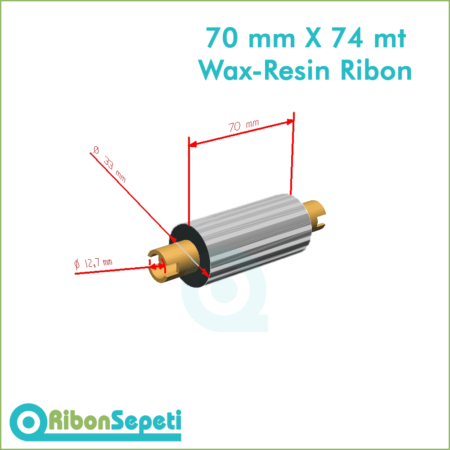 70 mm X 74 mt Wax-Resin Ribon Fiyatı (Online Satın Al)