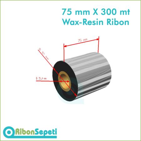 75 mm X 300 mt Wax-Resin Ribon Fiyatı (Online Satın Al)