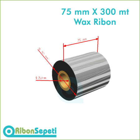 75 mm X 300 mt Wax Ribon Fiyatı (Online Satın Al)