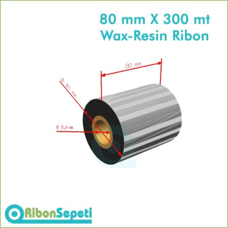 80 mm X 300 mt Wax-Resin Ribon Fiyatı (Online Satın Al)