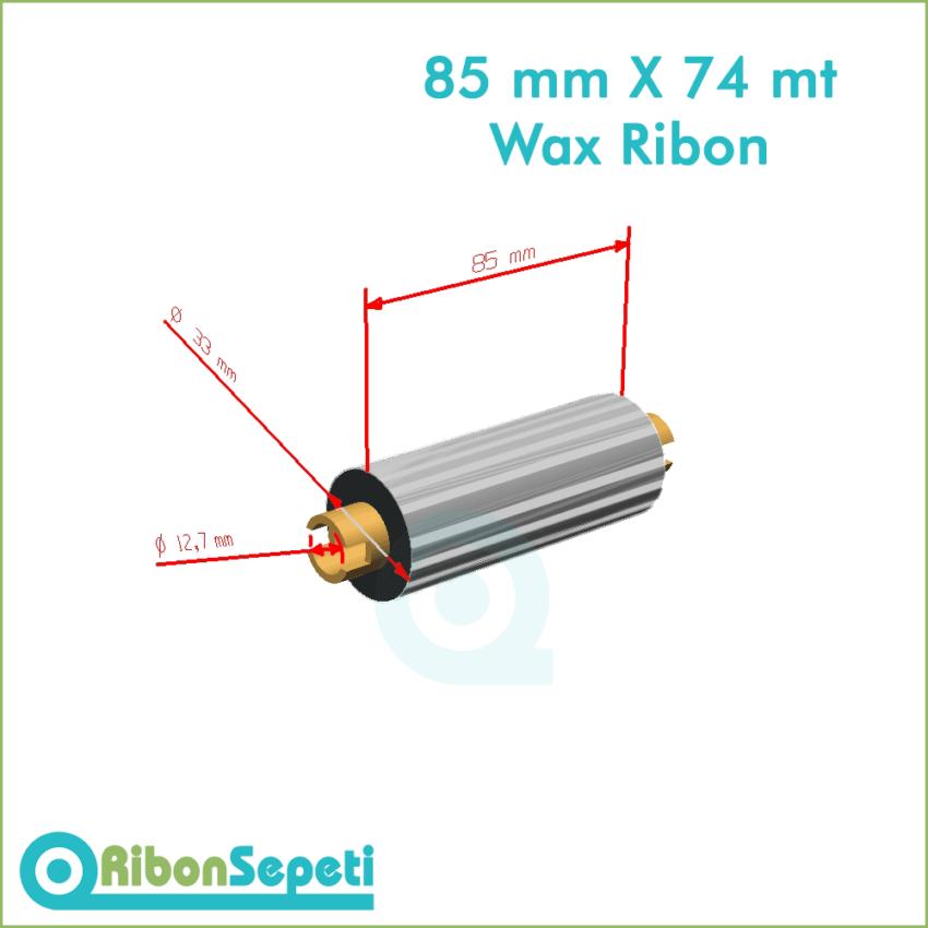 85 mm X 74 mt Wax Ribon Fiyatı (Online Satın Al)