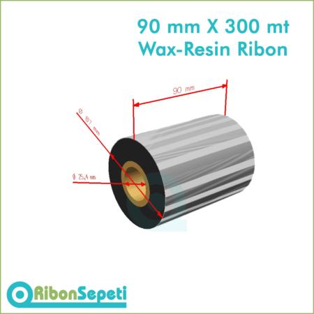 90 mm X 300 mt Wax-Resin Ribon Fiyatı (Online Satın Al)