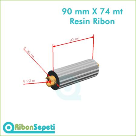 90 mm X 74 mt Resin Ribon Fiyatı (Online Satın Al)